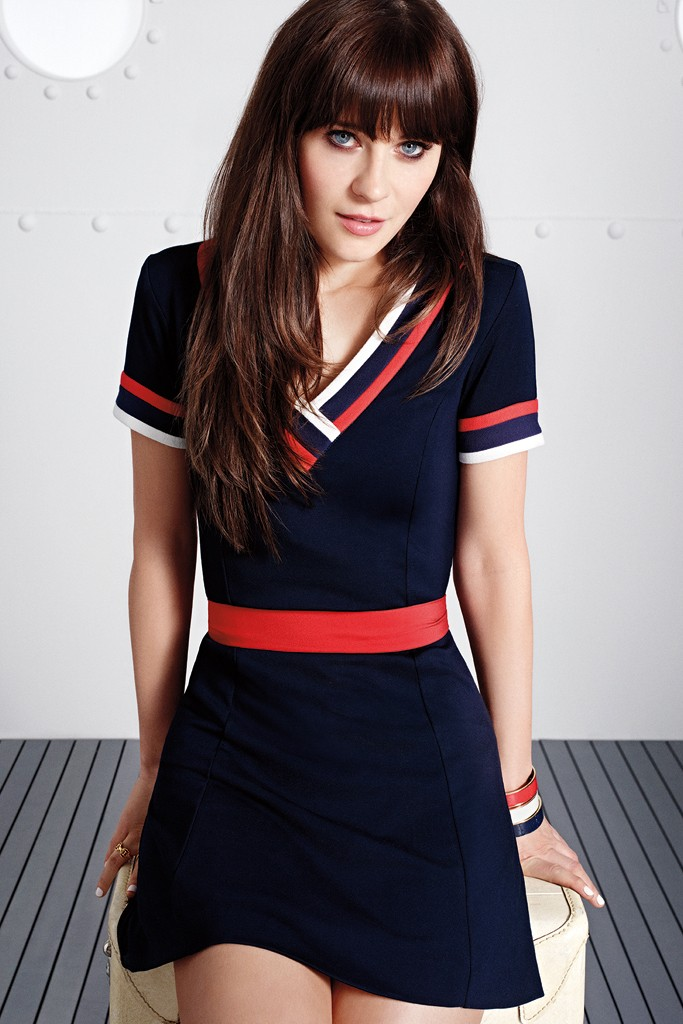 zooey deschanel tommy hilfiger2 Zooey Deschanel Collaborates with Tommy Hilfiger on To Tommy