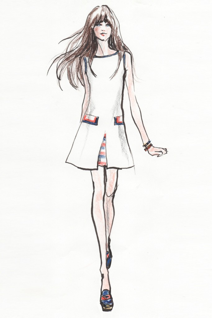 zooey deschanel tommy hilfiger5 Zooey Deschanel Collaborates with Tommy Hilfiger on To Tommy
