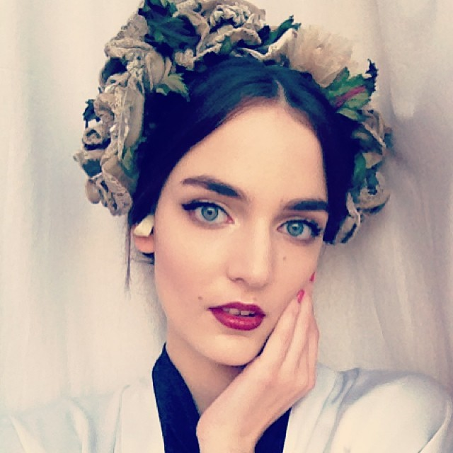zuzanna dolce gabbana Pretty Faces: 15 Model Beauty Selfies