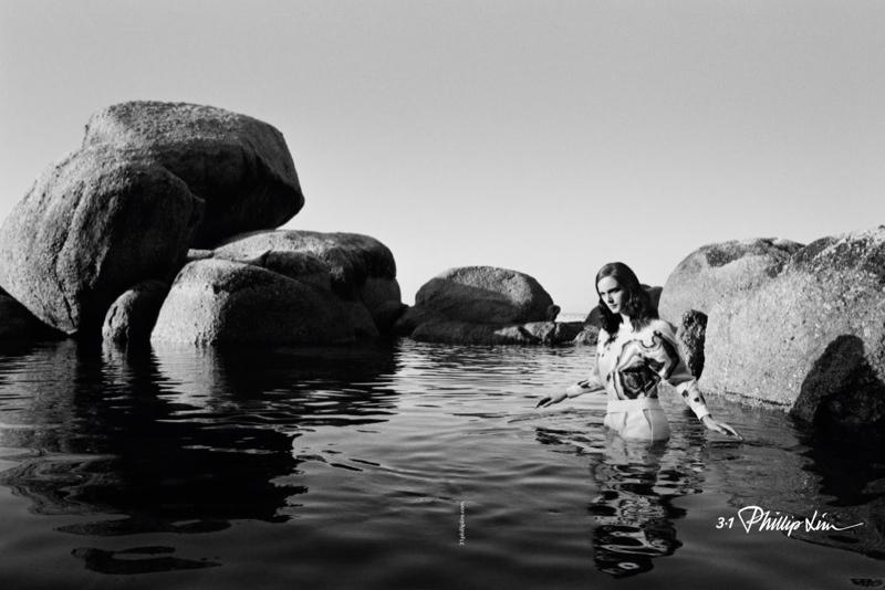 Anna de Rijk Stars in 3.1 Phillip Lim Spring/Summer 2014 Campaign