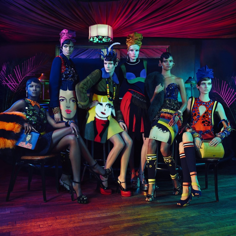 Prada Evokes Harlem Renaissance for Iconoclasts Project