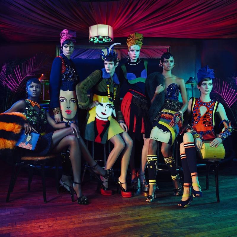 Prada Evokes Harlem Renaissance for Iconoclasts Project