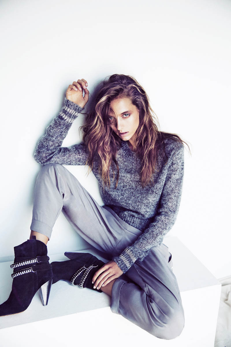 RUBY Gets Tomboy Chic for Fall 2014 Campaign by Steven Chee