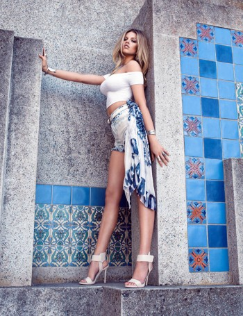 Hailey Clauson is a Fantasy for Guess Magazine by Stevie and Mada