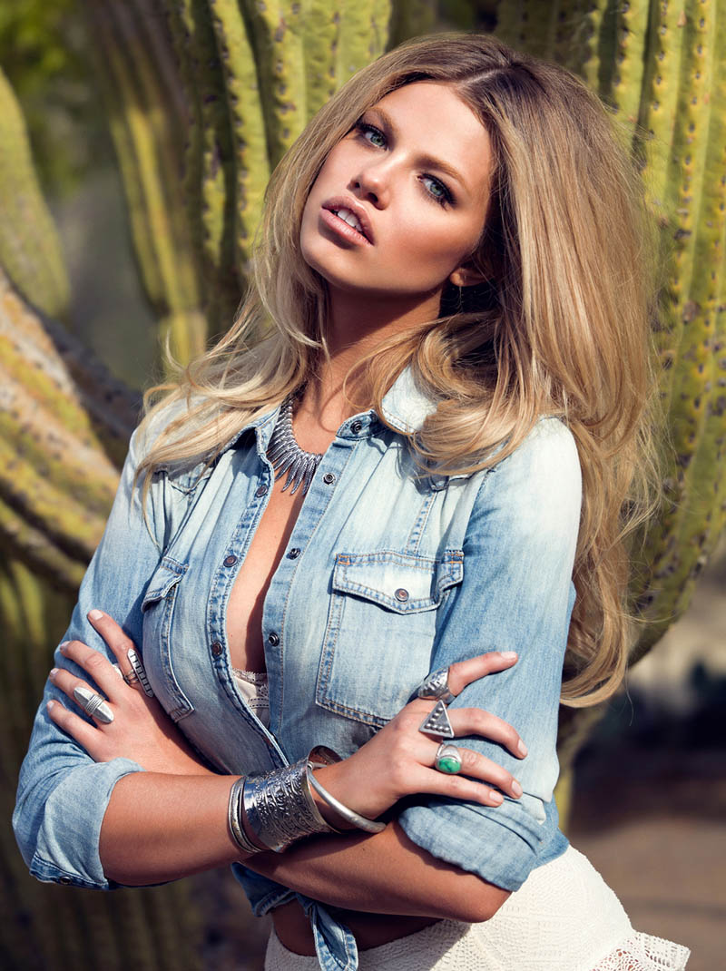 StevieMada HC 03 Hailey Clauson is a Fantasy for Guess Magazine by Stevie and Mada