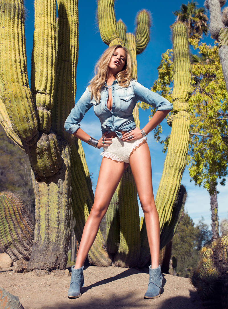 StevieMada HC 04 Hailey Clauson is a Fantasy for Guess Magazine by Stevie and Mada