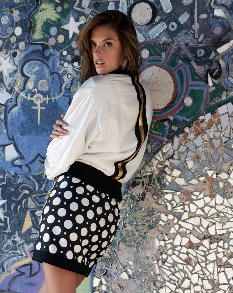 Alessandra Ambrosio is a Cali Girl for S Moda Shoot by Eric Guillemain
