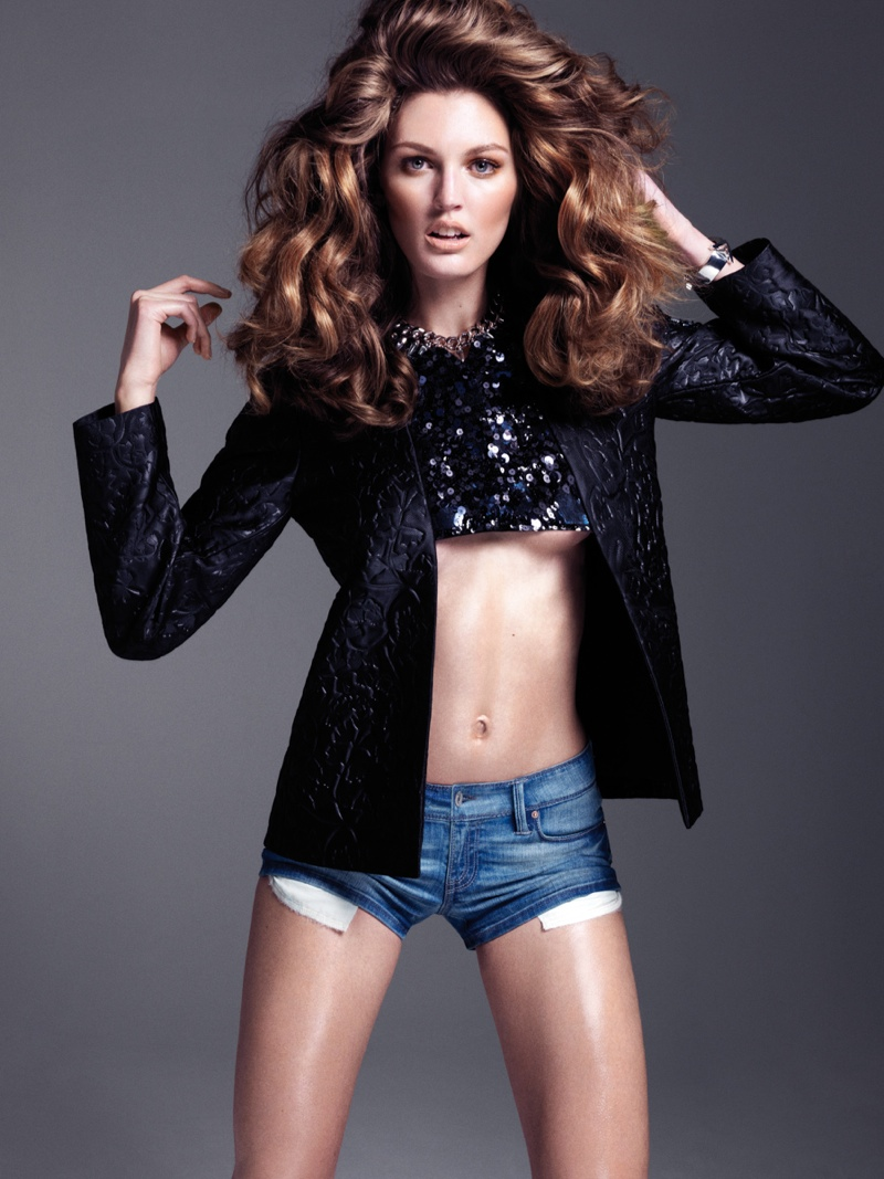 ali stephens stockton johnson4 Ali Stephens Rocks Denim Styles for Elle Vietnam by Stockton Johnson