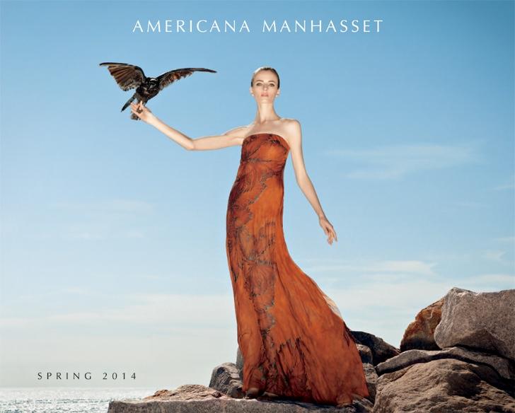 americana manhasset spring 2014 shoot1 Daria Strokous is a Hitchcock Heroine for Americana Manhasset Spring 2014
