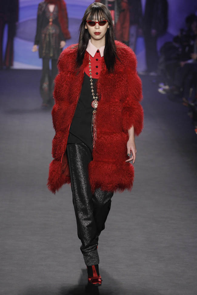 anna sui fall winter 2014 show1 Anna Sui Fall/Winter 2014 | New York Fashion Week