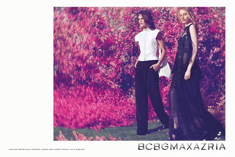 bcbg max azria spring 2014 campaign1 See BCBG Max Azrias Dreamy Spring/Summer 2014 Campaign
