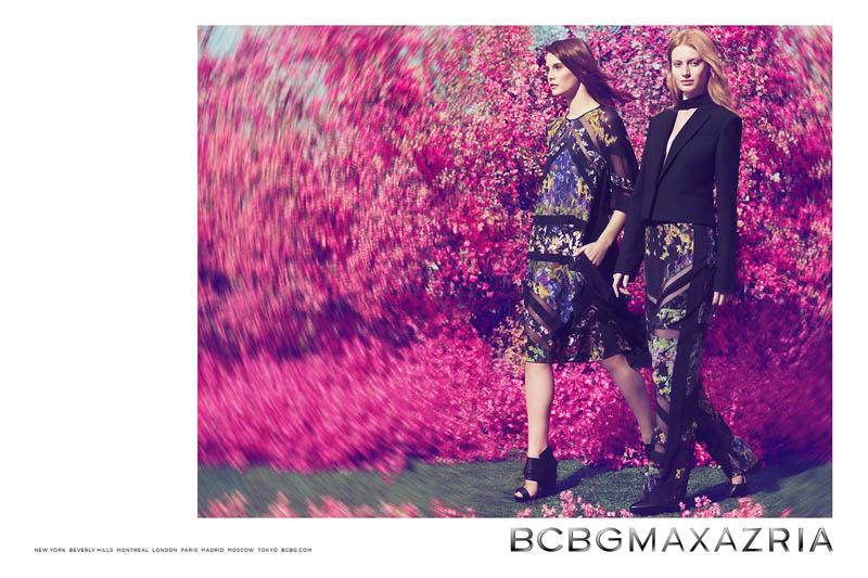 bcbg max azria spring 2014 campaign3 See BCBG Max Azrias Dreamy Spring/Summer 2014 Campaign