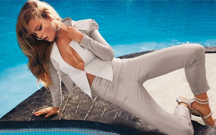 bebe spring 2014 campaign8 Nina Agdal Sizzles for Bebe Spring/Summer 2014 Campaign