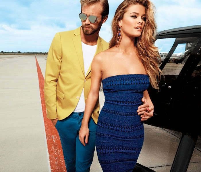 bebe spring 2014 campaign9 Nina Agdal Sizzles for Bebe Spring/Summer 2014 Campaign