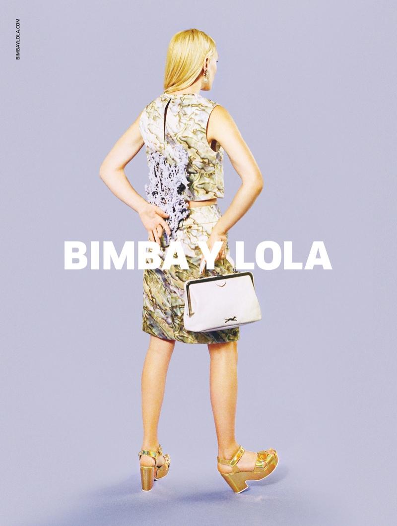 bimba y lola spring 2014 campaign3 Bimba Y Lola Gets Aquatic for Spring/Summer 2014 Campaign
