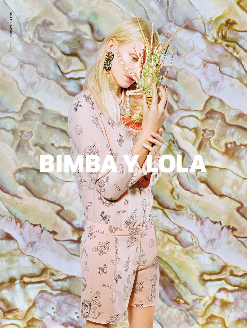 bimba y lola spring 2014 campaign4 Bimba Y Lola Gets Aquatic for Spring/Summer 2014 Campaign