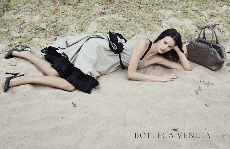 Amanda Murphy Lands Bottega Veneta's Spring/Summer 2014 Campaign