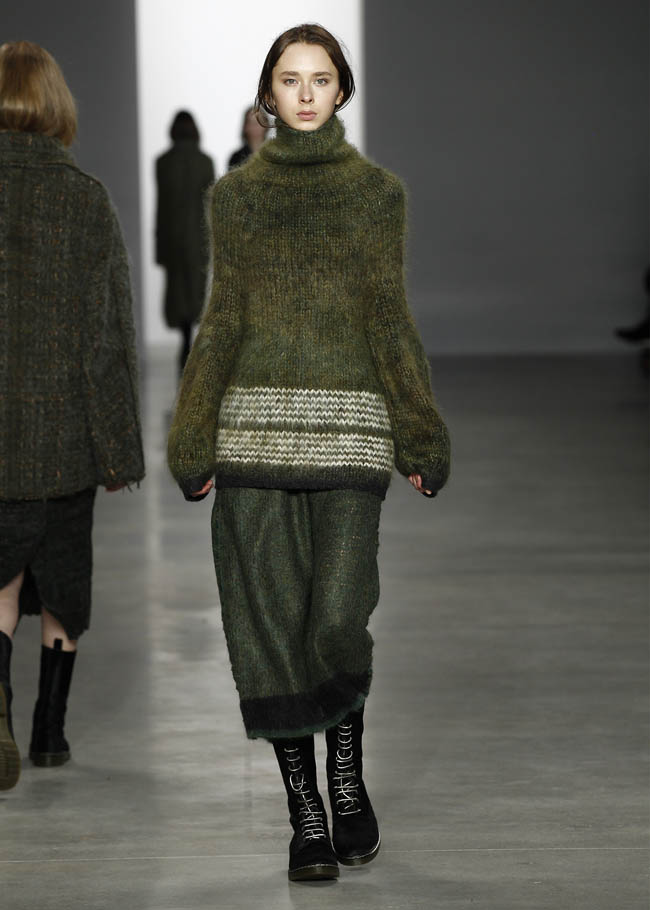calvin klein fall winter 2014 show25 Top 5 Fall/Winter 2014 Trends From Paris, London, New York & Milan
