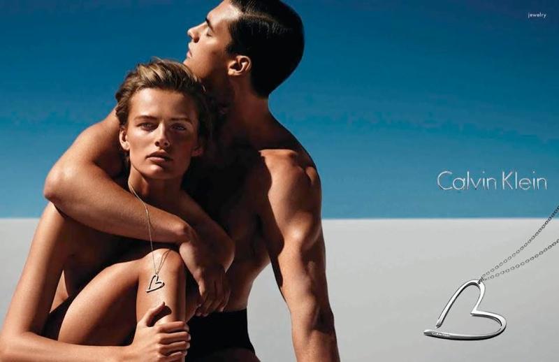 Edita Vilkeviciute Sizzles in Calvin Klein Watches Spring 2014 Campaign