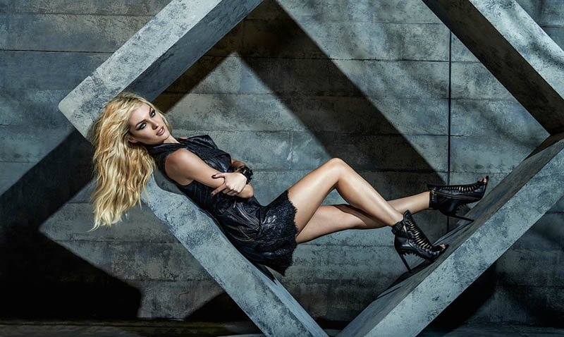 candice forum denim4 Candice Swanepoel is Hot (as Usual) in FORUMs Winter 2014 Campaign