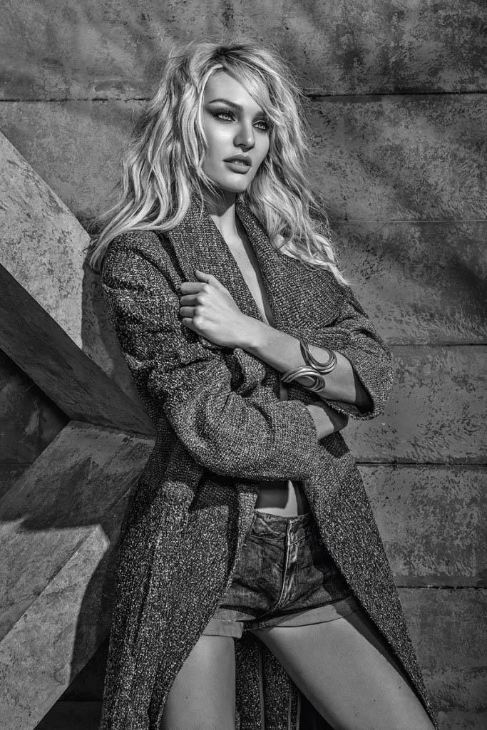 candice forum denim6 Candice Swanepoel is Hot (as Usual) in FORUMs Winter 2014 Campaign