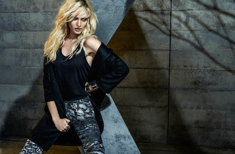 candice forum denim9 Candice Swanepoel is Hot (as Usual) in FORUMs Winter 2014 Campaign