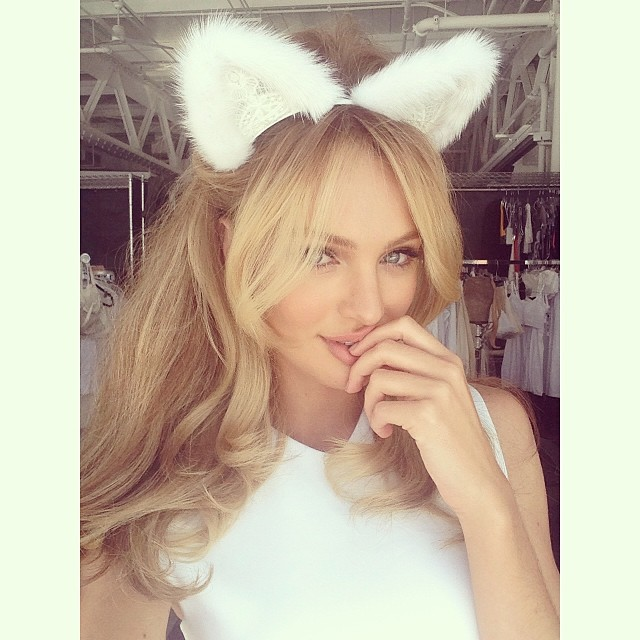 candice sweet TBT | When Candice Swanepoel Was a Brunette