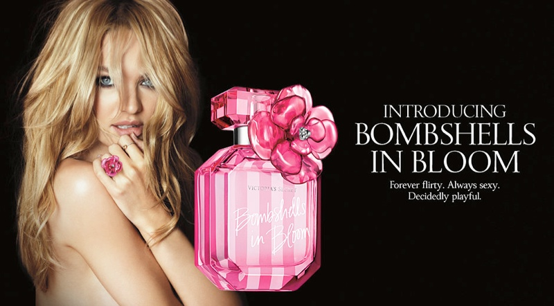 candice vs bombshells bloom1 Candice Swanepoel Stuns for Victorias Secret Bombshells in Bloom Fragrance