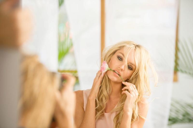 "Candice Swanepoel Stuns for Victoria's Secret ""Bombshells in Bloom"" Fragrance"