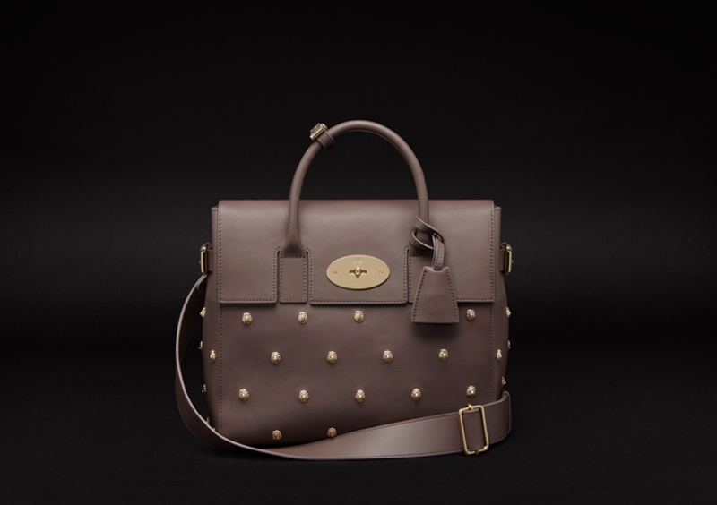 Cara Delevingne Teams Up with Mulberry for Bag Collection