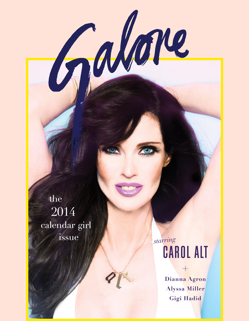 carol alt galore Carol Alt Covers Galore, Calls Kate Upton a Product of Great Media Hype
