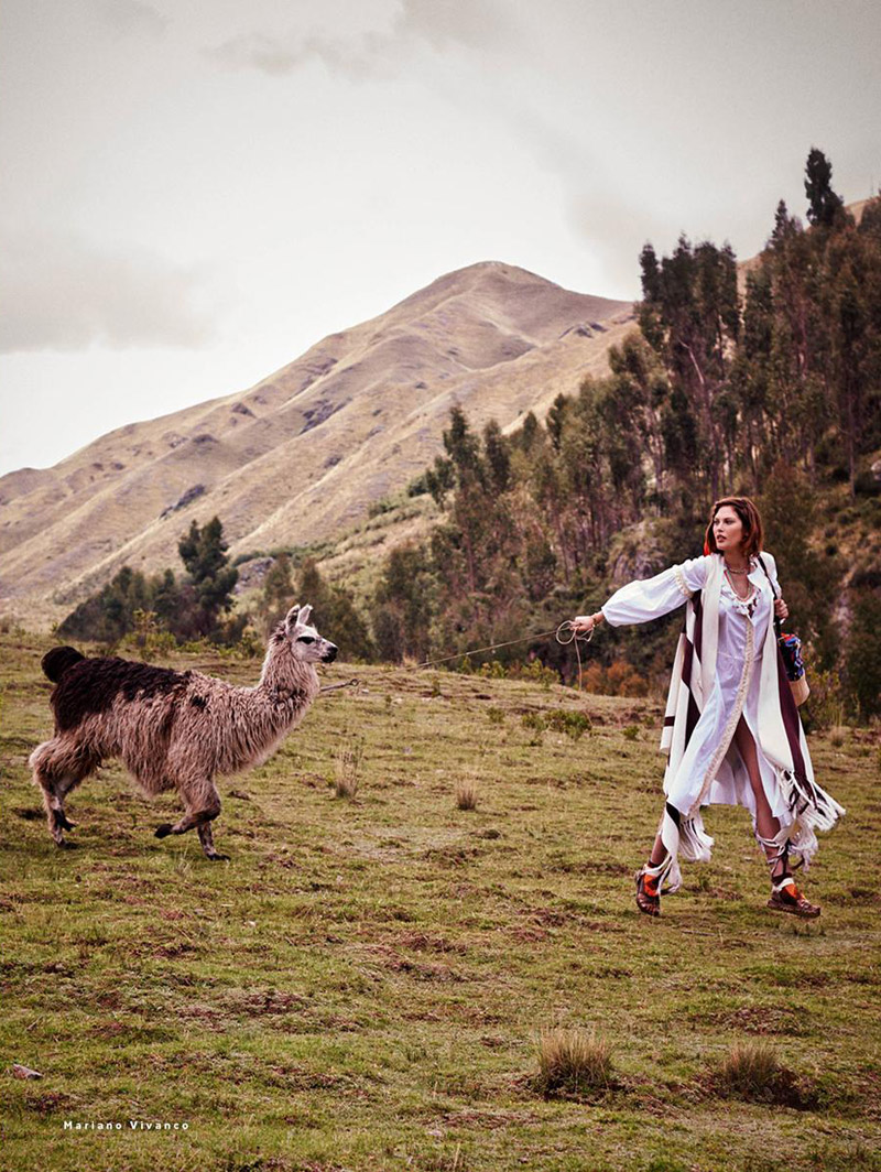 catherine mcneil photo shoot7 Catherine McNeil Heads to Peru for Vogue Russia by Mariano Vivanco