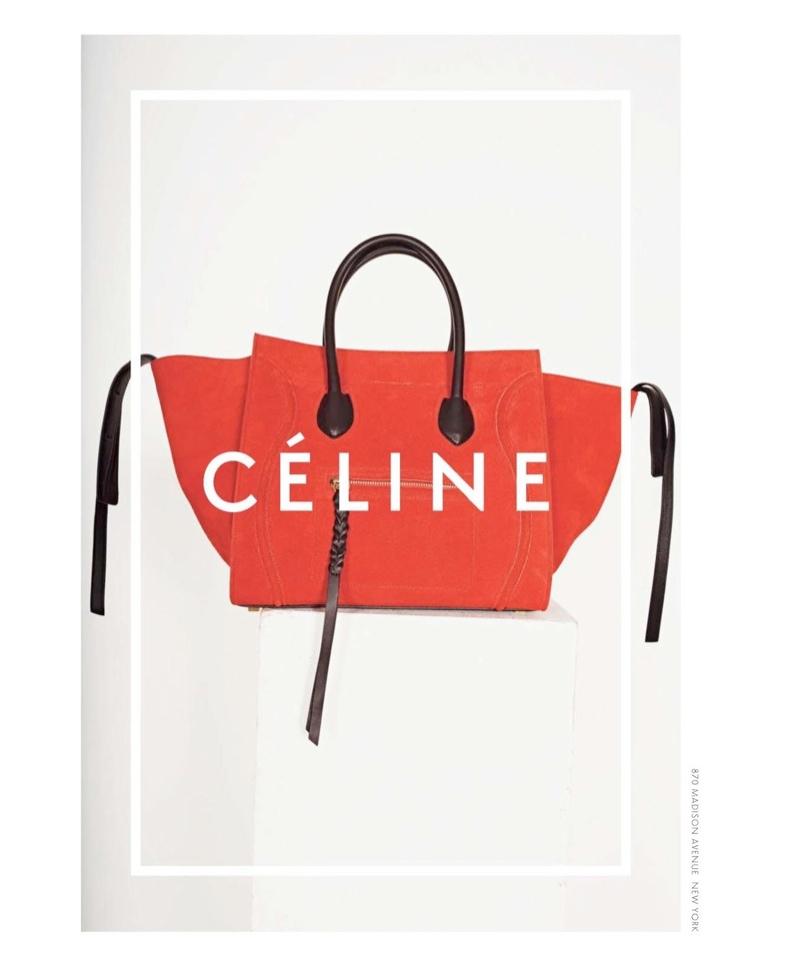 celine spring 2014 campaign8 Daria Werbowy, Julia Nobis Pose for Celines Spring 2014 Ads