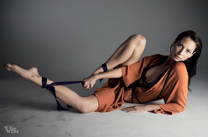 See Christy Turlington's Photo Shoot for Vs. Magazine by Karen Collins