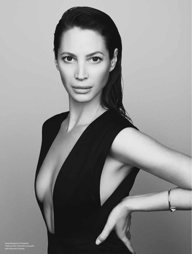 christy turlington vs magazine4 See Christy Turlingtons Photo Shoot for Vs. Magazine by Karen Collins