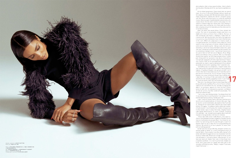 ciara photo shoot12 Ciara Stars in PULP No. 8 Cover Story by Arkan Zakharov