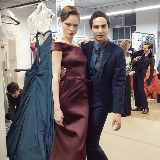 coco zac posen Instagram Photos of the Week | Anne V, Naomi Campell, Magdalena Frackowiak+ More Models