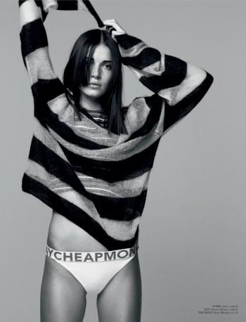 Hanna Sorheim Models for Andreas Öhlund in Cover Magazine Shoot