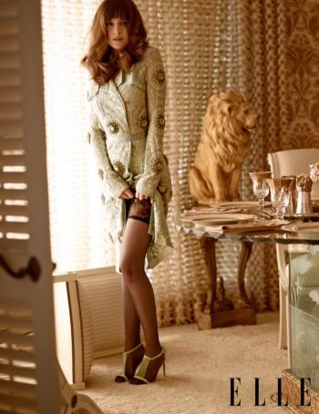 "Dakota Johnson Lands ELLE's March 2014 Cover, Talks ""Fifty Shades of Grey"""