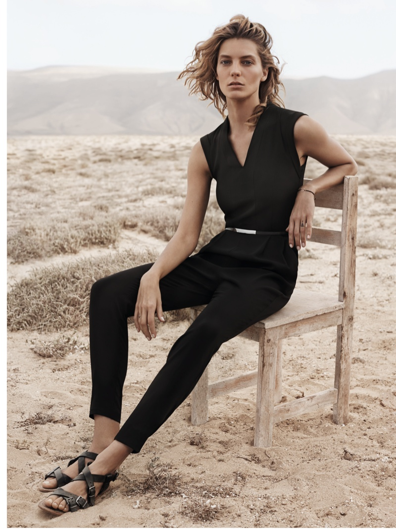 daria werbowy mango spring ad photos10 More Photos of Daria Werbowy for Mangos Spring 2014 Ads