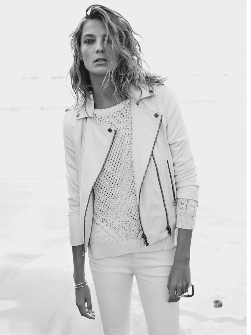 daria werbowy mango spring ad photos13 More Photos of Daria Werbowy for Mangos Spring 2014 Ads