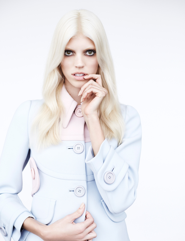 devon windsor4 Devon Windsor Gets Ethereal for Numéro #151 by Billy Kidd