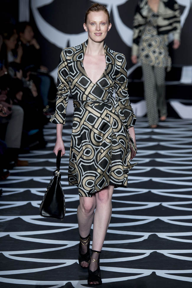 diane von furstenberg fall winter 2014 show1 Diane von Furstenberg Fall/Winter 2014 | New York Fashion Week