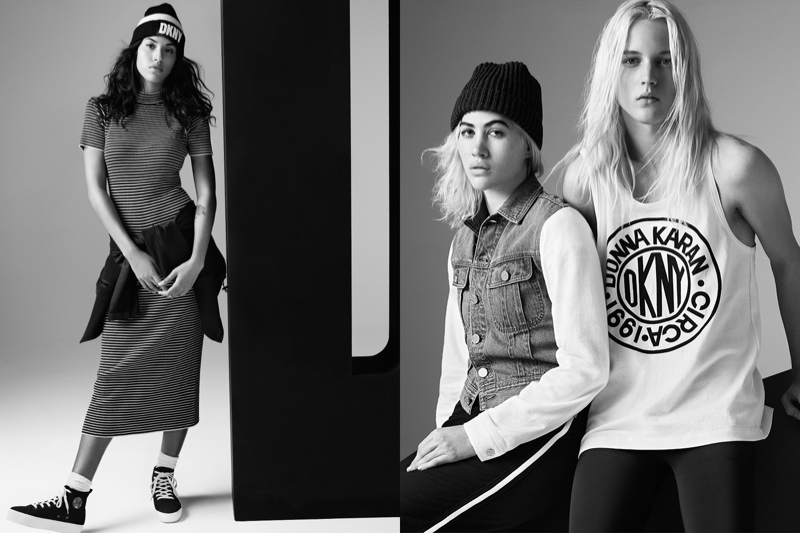 The DKNY for Opening Ceremony Collaboration Celebrates 90s Style
