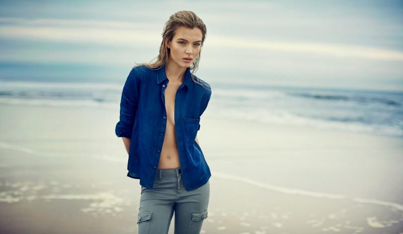 Josephine Skriver Fronts DL1961 Premium Denim Spring/Summer 2014 Campaign