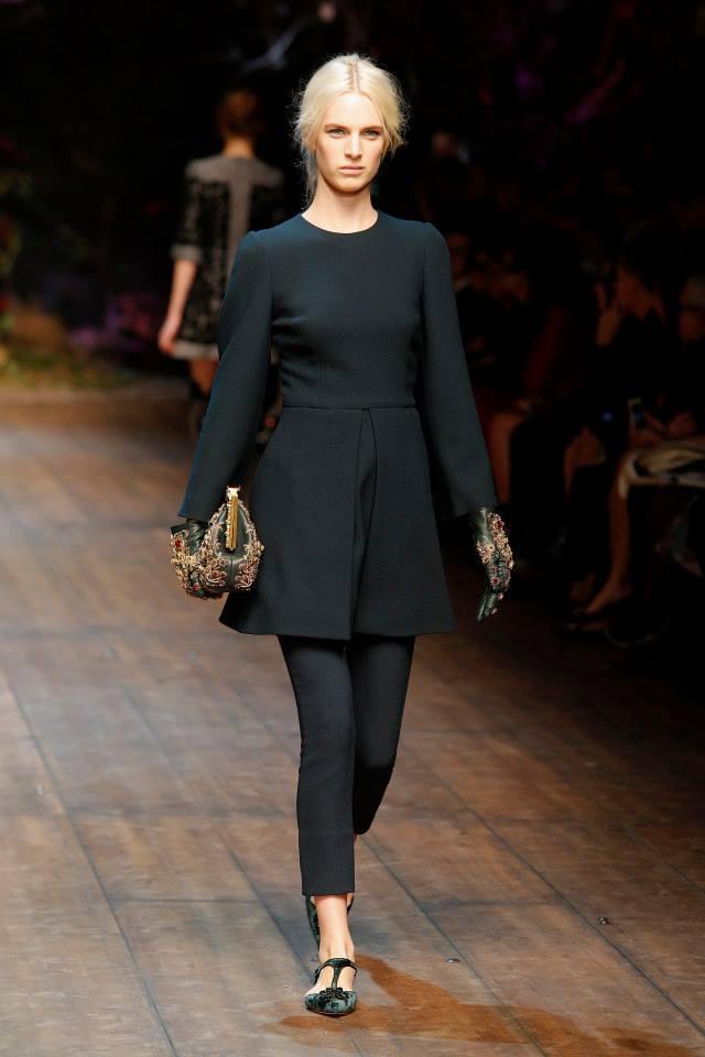 Dolce and Gabbana Milan Fashion Week AW 2014