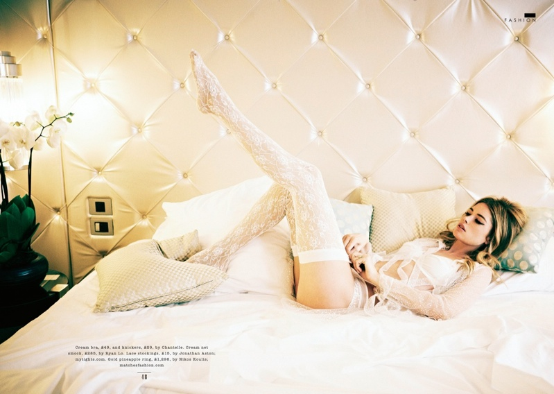 doutzen kroes bombshell2 Doutzen Kroes is a Bombshell for Ellen von Unwerth in Sunday Times Style