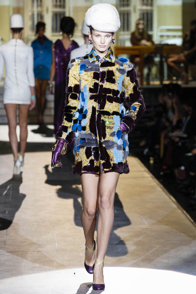 dsquared2 fall winter 2014 show8 Top 5 Fall/Winter 2014 Trends From Paris, London, New York & Milan