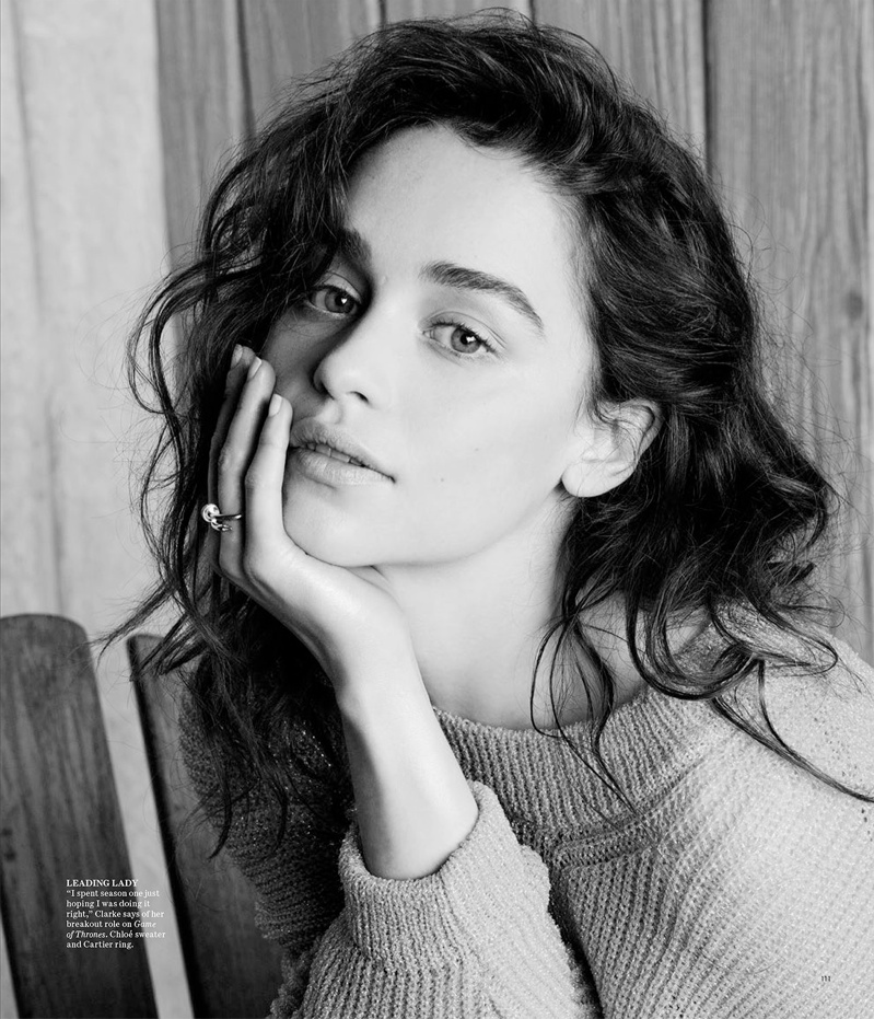 emilia clarke photos2 Emilia Clarke is Easy Breezy in Photo Shoot for WSJ
