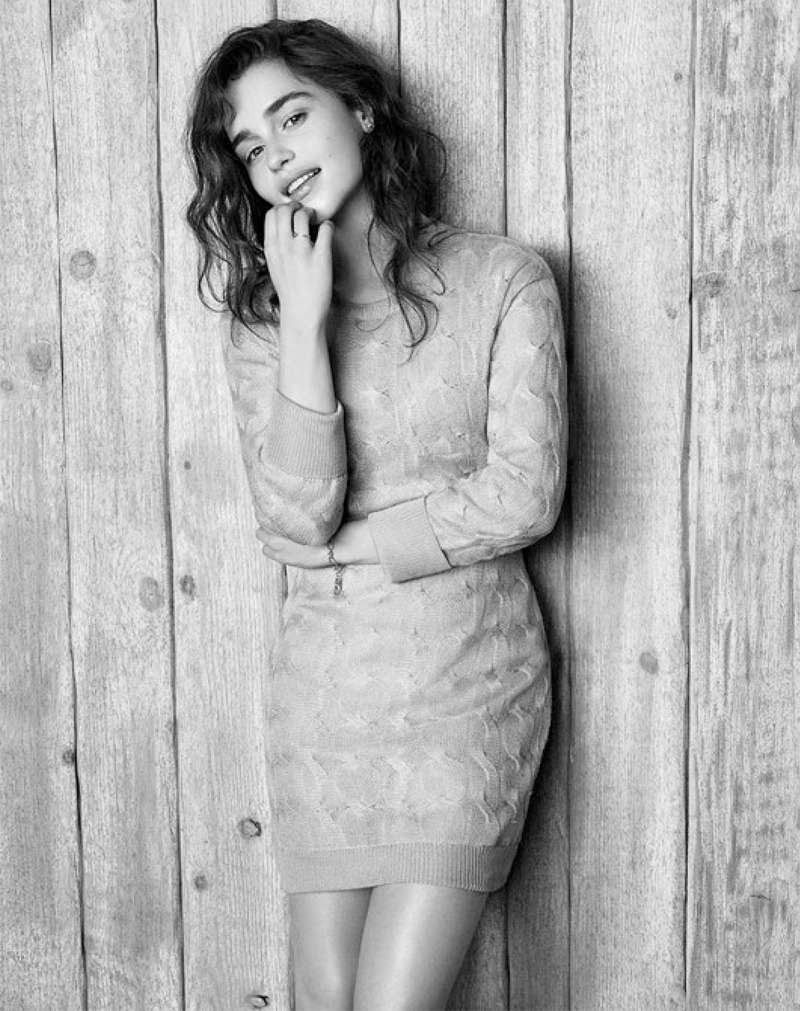 emilia clarke photos5 Emilia Clarke is Easy Breezy in Photo Shoot for WSJ